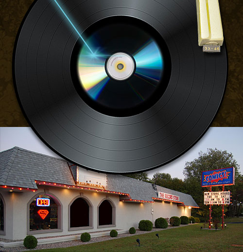 The Record Store, Located In Howell NJ, Is Your One Stop Source For New And  Used Cdu0027s, Dvdu0027s, New And Used Vinyl, Rare And Hard To Find Items, ...